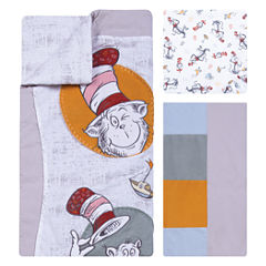 Trend Lab Classic Cat In The Hat 3-pc. Modern Crib Bedding Set