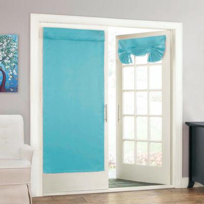 eclipse tricia door panel rodpocket door panel curtain - Door Panel Curtains