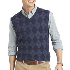 IZOD Fine Gauge Argyle Sweater Vest