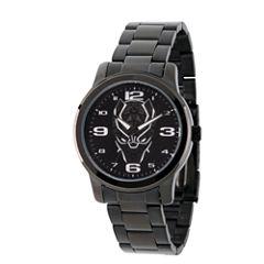 Avengers Mens Black Strap Watch-Wma000214