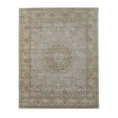 Eastern Rugs Hand-tufted Traditional Oriental Gonbad Rug