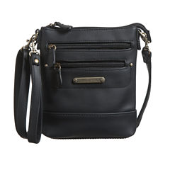 Stone Mountain Nubuck 3-Bagger Crossbody Bag