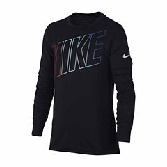 Nike Long Sleeve Compression-Big Kid Boys