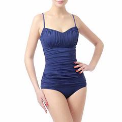 phistic Women's UPF 50+ Tankini Top  Bikini 2Piece Swimwear Set