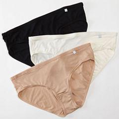 Jockey®Elance® Supersoft 3-pk. Bikini Panties - 2070