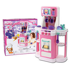My First Cookin 8-Pc. Play Kitchen