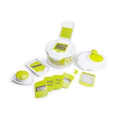 For The Chef Salad Maker Set 5-Qt.Capacity Salad Spinner