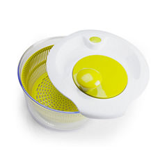 For The Chef Salad Chef Set 5-Qt. Capacity Salad Spinner