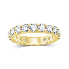 3 CT. T.W. Diamond 14K Yellow Gold Eternity Band