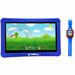 LINSAY® Kids Bundle with Blue Kids Smartest Watch on Earth with Camera and 10.1