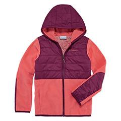 Columbia Lightweight Fleece Jacket-Big Kid Girls