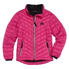 Heavyweight Pattern Puffer Jacket - Girls-Big Kid