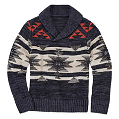 Arizona Crew Neck Long Sleeve Knit Pullover Sweater - Preschool