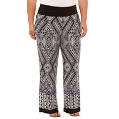 Alyx Knit Pull-On Pants-Plus