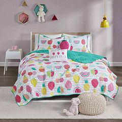 Water Melly Cotton Coverlet Set