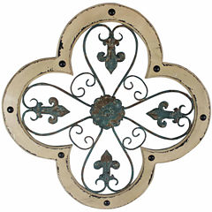 Filigree Design Clover Wall Decor