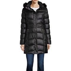 Liz Claiborne Heavyweight Puffer Jacket-Tall