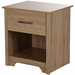 Fusion 1-Drawer Nightstand