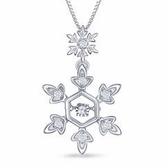 Enchanted by Disney 1/10 C.T. T.W. Diamond Sterling Silver