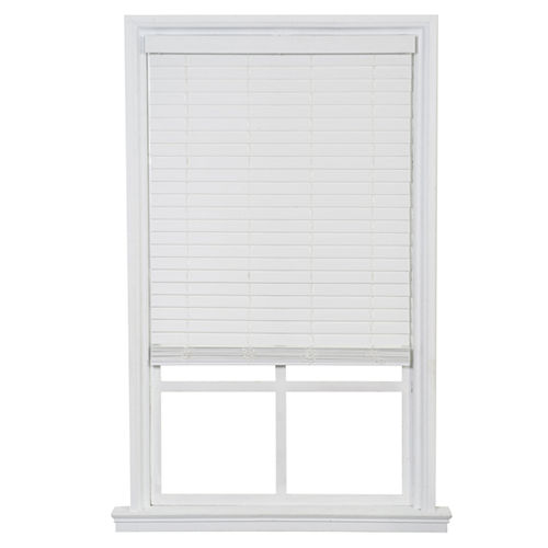 JCPenney Home™ Cordless & Wandless 2 Faux Wood Blinds