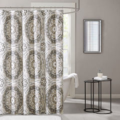 Madison Park Aurora Printed  Shower Curtain