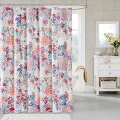 Madison Park Raylene Cotton Shower Curtain
