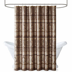 Madison Park  Venetian Jacquard Shower Curtain