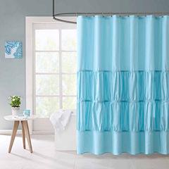 Mi Zone Cristy Microfiber Shower Curtain