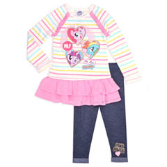 2-pc. Legging Set-Toddler Girls