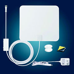 Antop AT-100B Paper Thin Smartpass Amplified Indoor HDTV Antenna
