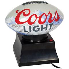 Coors Light Football Shaped Popcorn Maker