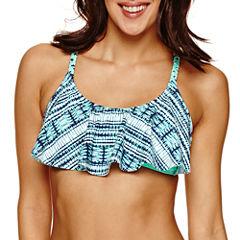 Ibiza Flounce Swimsuit Top-Juniors