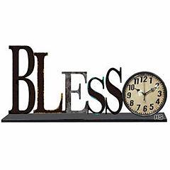 Bless Wall Clock