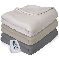 Serta® Plush Electric Warming Blanket