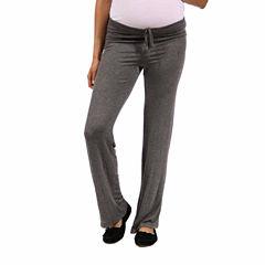 24/7 Comfort Apparel Drawstring Pants - Plus Maternity