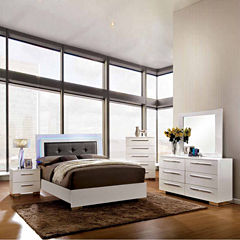 Isabella Modern 4-pc. Bedroom Set