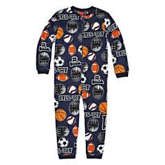 Arizona Long Sleeve One Piece Pajama-Boys 4-20