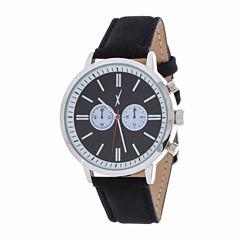 Xtreme Time Mens Silver Tone Bracelet Watch-Nwl389087bk