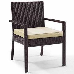 Crosley Palm Harbor Wicker Patio Dining Chair