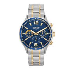 Armitron All Sport Mens Two Tone Bracelet Watch-20/5247nvtt