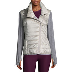 Xersion Mixed Puffer Jacket- Talls