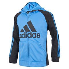 adidas Boys Lightweight Track Jacket-Big Kid