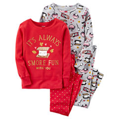 Carter's 4-pc. Pajama Set Girls