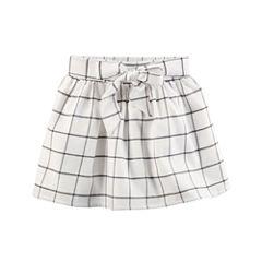 Carter's Plaid Woven Pleated Skirt - Preschool Girls