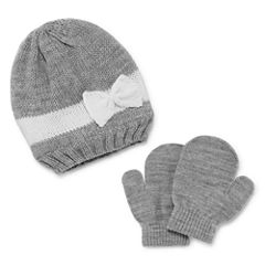 Weatherproof Slouch 3-pc. Cold Weather Set-Baby Girls