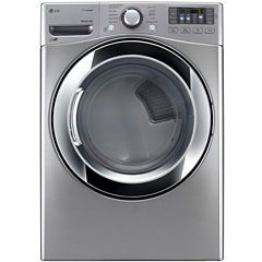 LG ENERGY STAR® 7.4 cu. ft. Ultra Large Capacity Gas SteamDryer™ w/ NFC Tag On