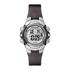 Marathon by Timex® Black Resin Strap Digital Watch T5K805M6