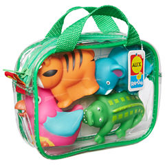 ALEX TOYS Rub A Dub Bath Squirters Jungle 4-pc. Toy Playset - Unisex