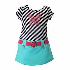 Lilt Short Sleeve Dress Set - Toddler Girls