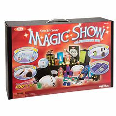 Ideal 100 Trick Spectacular Magic Show Suitcase Unisex 12-pc. Dress Up Accessory